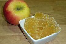 pâtes de fruits à la pomme