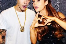 Ariana and Justin / Ariana Grande and Justin Bieber