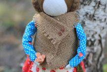 Кукла яблочный спас