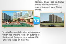 Compare Properties nearby / Board offers option to compare nearby #realestate #projects in #Jaipur