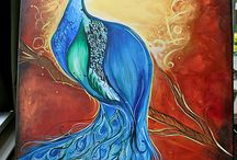 Love those peacocks.... / by Heather Lampron