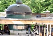Big green egg / by Dija Pfefferkorn