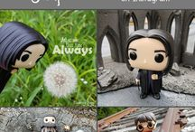Funko Pop / Funko Pop Photography and how fun they can be. Funko Harry Potter and Funko Doctor Who by artist Wandering Snape (that's me!)
