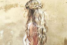 blonde hair <3