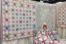 2013 Spring Market - Portland, OR / Pictures of my booth at the International Quilt Market, Spring 2013 in Portland, OR.  Fabric Collection:  Attic Treasures by Gerri Robinson for Red Rooster Fabrics.