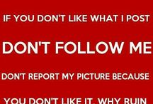 Please Read Before Follow Me