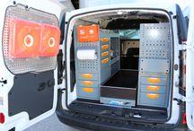 Renault Kangoo ZE / Equipamiento Modular en esta Renault Kangoo Eléctrica, todo lo necesario para que no te falte de nada ¡¡Fabricamos Soluciones!!