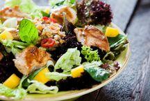 jarní sezona saláty&drinky