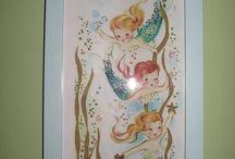 Mermaid baby room