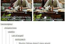 Sherlock and sass