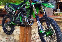 dirt bikes & rifles