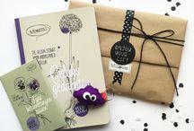 Inpakken ♥ / Voorbeelden hoe Millows de cadeautjes inpakt ♥