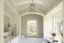 Bedazzling Bathrooms / by Rochelle Cohen