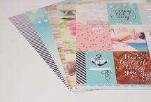 Nuestros favoritos / Productos imprescindibles para hacer Scrapbook según nuestras diseñadoras