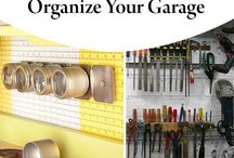 Garage Cleaning Tips / How to keep your garage or outdoor space clean and tidy. Cleaning and organizing tips.