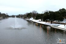 Snow Day in Natchitoches, LA / Two very rare snow events occurred in historic Natchitoches, Louisiana in January 2014.
