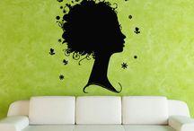 salon stickers