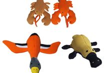 waterbased and retrieval dog toys!