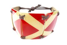 Unique Totumo Bracelets / The combination of Totumo bracelets in their fresh multicolour with adjustable straps are striking in their beauty.