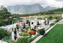 Weddings and Events / The Cape Winelands is a preferred location choice when it comes to weddings and for good reason – its vineyards and mountains embody a sense of romance and tradition that is hard to beat.