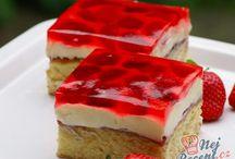 Jahodovy kolač
