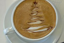 Coffee - latte art / náměty na ozdobení kávy