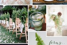 Botanical wedding inspiration / Loving green
