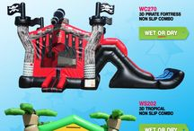Sales and Specials on EZ Inflatables / Discounts, sales and promotions !