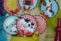Animal Farm Party - Festa de aniversário com o tema animais da quinta