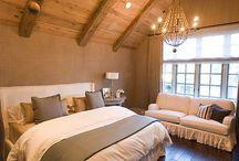 屋根裏のベッドルーム