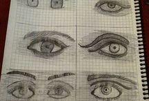 KENDİ ÇİZDİKLERİM.... / Kara kalemle resim yapmayı seviyorum. Çünkü insanların kalbini ancak kara kalem ile çizebiliyorum .....