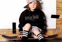 Ruff & Huddle / Childrens' street wear inspired by British and American youth cultures.