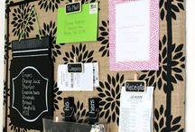 Decoración original / Me gusta encontrar ideas orginales para organizar y a la vez decorar