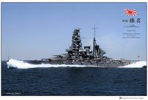 Color photos of the Ships of the Imperial Japanese Navy