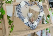 Wedding decorative Items for Hire / We have a collection of lovely decorative items that might be just what you need to add a few finishes touches to your venue. In most cases, we are able to make to order so if we do not have what you need, do not hesitate to ask. Please visit us at www.loveartdesigns.co.uk