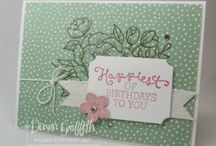 CARDS: Birthday Cards and Birthday Blooms
