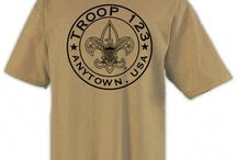 Boy Scout™ Troop T-shirt Design Ideas