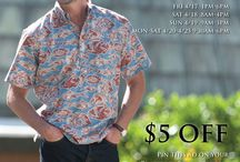 Reyn's Rack / This board showcases all of the great products we sell at our rack store.   Reyn's rack provides high-quality merchandise from Reyn Spooner and reynspooner.com for up to 25%-50% off the original prices.  Reyn's Rack's goal is to offer luxury Aloha shirts for up to half off the original prices. This is an opportunity for customers of Reyn Spooner to purchase timeless products for a discounted price. Stop in today, or check back often for sales, new shipments, events, contests and more.
