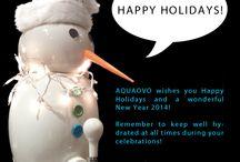 Holiday pins / by AQUAOVO