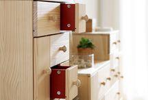Indret med fyrretræ / Indret med fyrretræ i dit hjem. Skab en god ballance mellem træsorter, farver og personlige elementer.  / by IKEA DANMARK