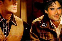 Dean and Damon Edits