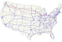 Route 12 Road Trip / We're driving from Detroit to the Pacific Ocean. August 2014?
