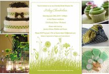 Parties [Eco-friendly/green] / Baby shower for a best friend!