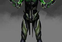 The Masks / Superhero character inspiration