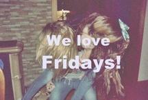 We love weekends!