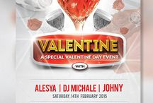 Valentine Party Day Flyer