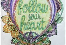 Inspiration ~ Coloring Stress Therapy