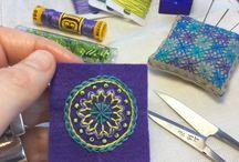 felt embroidery tutorial