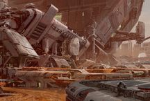 ..:: Space Ape Inspiration Board ::.. / Collaborative inspiration sharing for the artists at Space Ape Games.   http://spaceapegamesart.tumblr.com/theteam