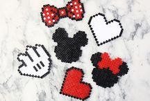 Mickey en perles